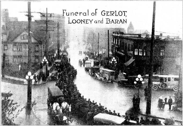 Funeral of GERLOT, LOONEY and BARAN