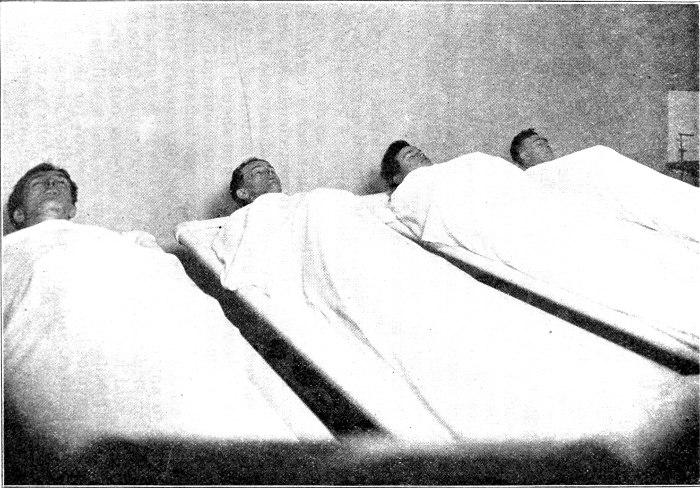 Victims at Morgue. John Looney Hugo Gerlot, Felix Baran Abe Rabinowitz