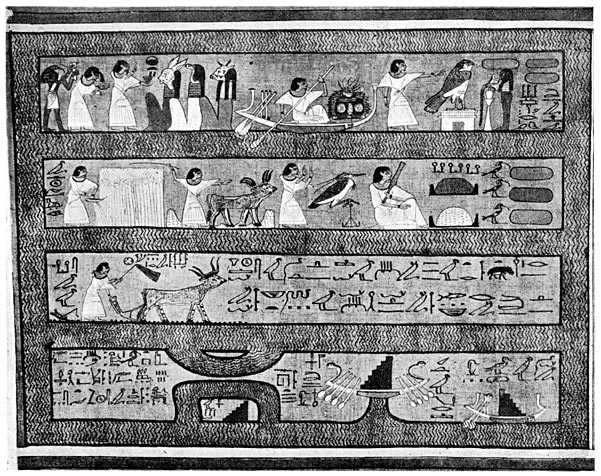 The Elysian Fields of the Egyptians.