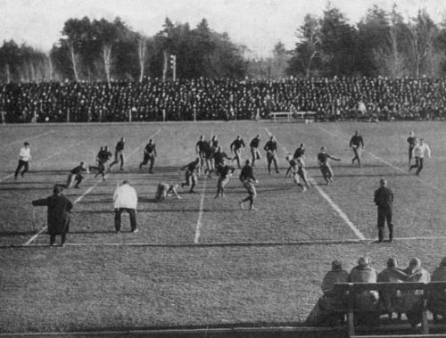 Exeter-Andover game, 1915