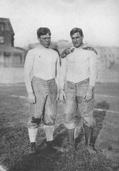Two aces--Bill Morley and Harold Weeks