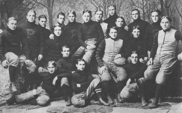 Princeton's 1899 team