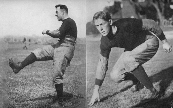 The ever reliable Brickley; A football thoroughbred--Tack Hardwick