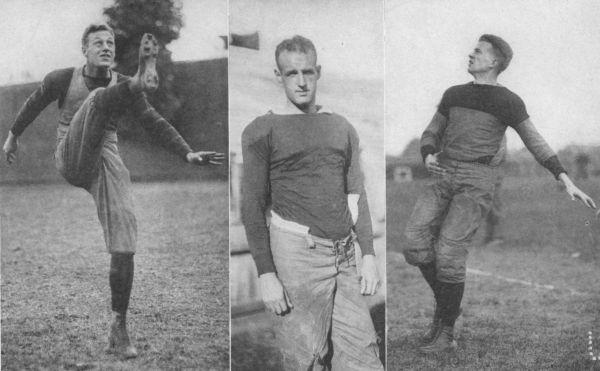 Hobey Baker; Walter Camp, Jr.; Snake Ames, Jr.