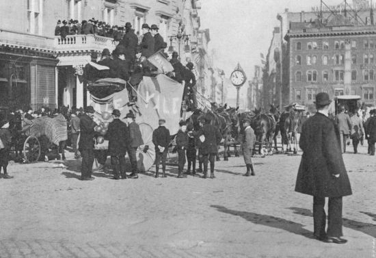 The Old Fifth Avenue Send-Off