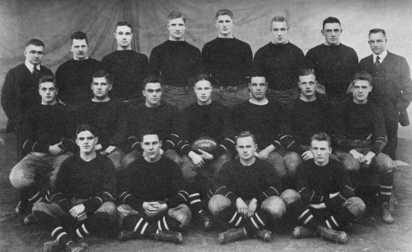 Cornell's great team--1915