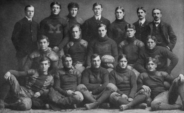 Michigan's famous 1901 team