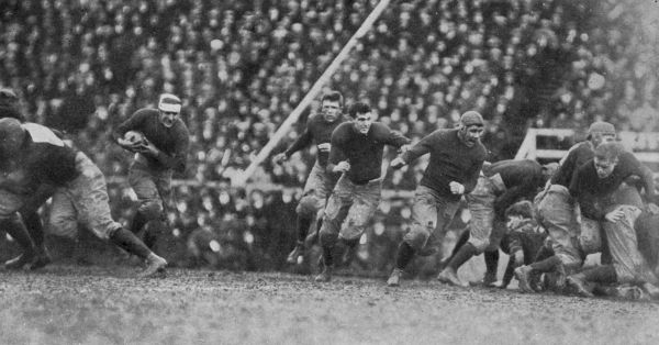 Ainsworth, Yale's terror in an uphill game