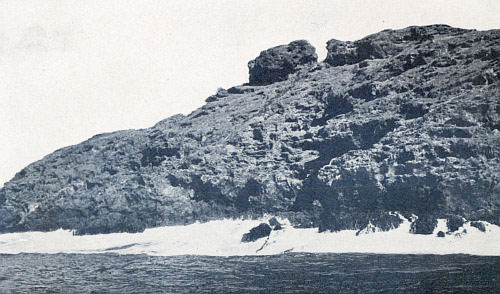 WHERE THE DEEP-BLUE SWELL BOOMS AGAINST THE LAVA WALL OF CLEMENTE ISLAND