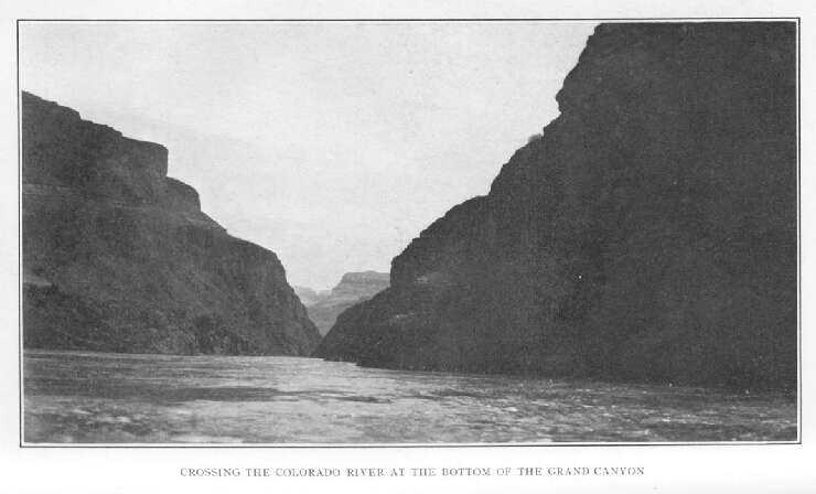 Crossing the Colorado River at The Bottom of The Grand Canyon