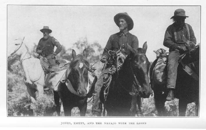 Jones, Emett, and the Navajo With The Lions