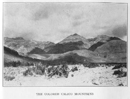 The Colored Calico Mountains
