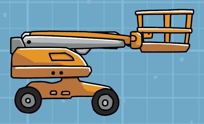 scribblenauts:scribblenauts_unlimited:nouns:boom_lift - Brian ...