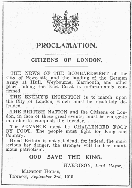 THE LORD MAYOR'S APPEAL TO LONDON