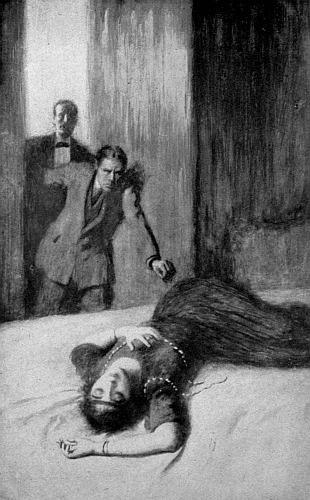 """""""Gabrielle, my poor niece,"""" he cried. """"She's dead--dead!"""""""