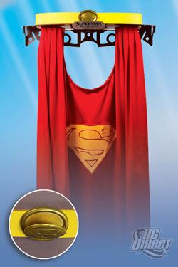 DC Direct Superman's Cape and Belt Replica Set