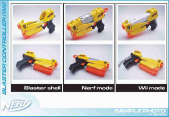 Hasbro's Nerf Wii Blaster