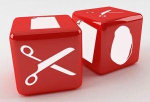 Rock Paper Scissors Dice
