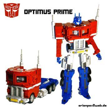 Lego Optimus Prime by Alexander Schranz