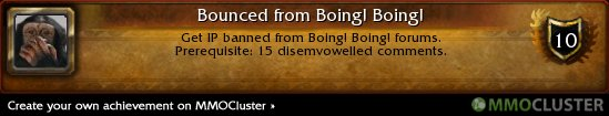 Bounced from Boing! Boing! Achievement