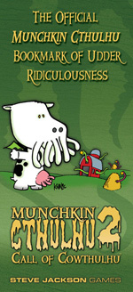 Munchkin Cthulhu Bookmark of Udder Ridiculousness