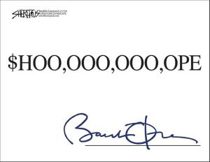 Obama Stimulus Hope Comic