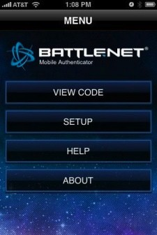 Battle.Net Mobile Authenticator for iPhone/iPod Touch