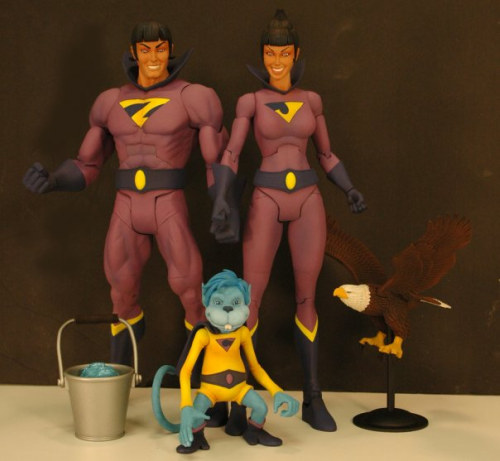 Wonder Twins with Gleek SDCC Exclusive