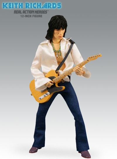 Medicom's Keith Richards Action Figure