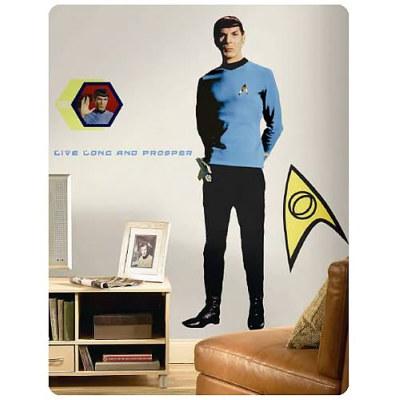 Spock Wall Sticker