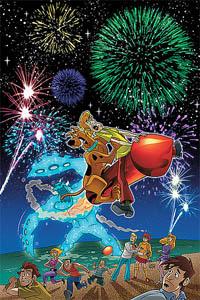 Scooby Doo Rocket Ride