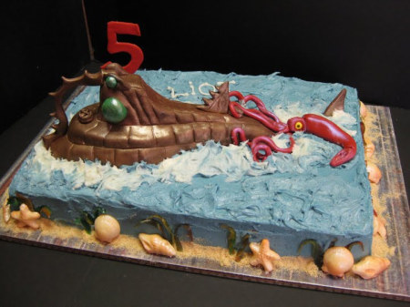20,000 Leagues Under The Sea Cake