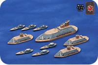 Uncharted Seas Iron Dwarves Fleet