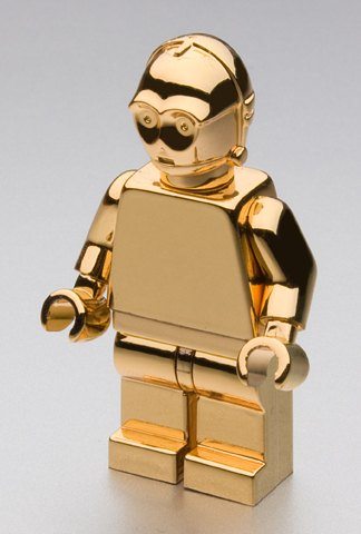 Gold Plated C3PO