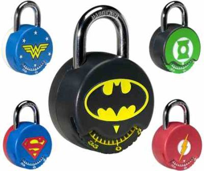 JLA Padlocks by Kryptonite