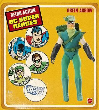 Retro Action Green Arrow