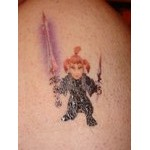 My World of Warcraft Temporary Tattoo