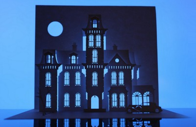 Addams Family Papercraft