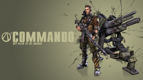 Borderlands 2 Commando Wallpaper