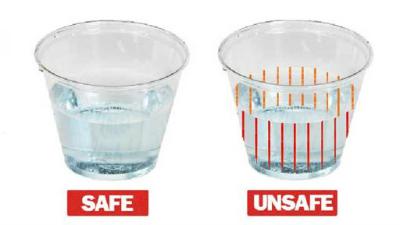 Date Rape Drug Detection Cups