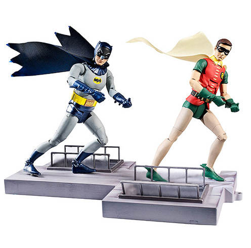 DC Classic TV: Batman and Robin Action Figures