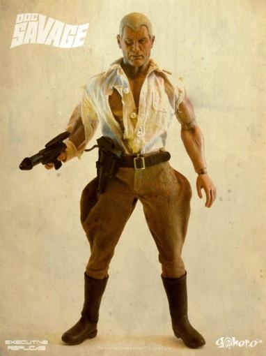 Go Hero's Doc Savage Action Figure