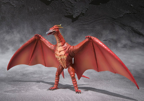 S.H. Monster Arts Fire Rodan Action Figure
