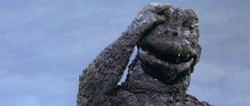 Godzilla Face Palm