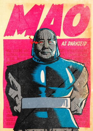 Mao as Darkseid