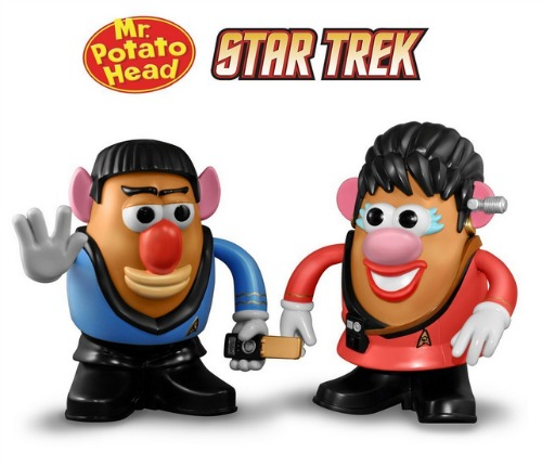 Mr. Potato Head Star Trek - Spock and Uhura Double Pack