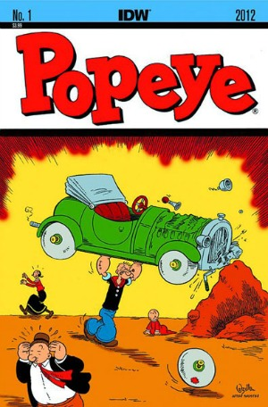 Popeye Vol 1 Cover