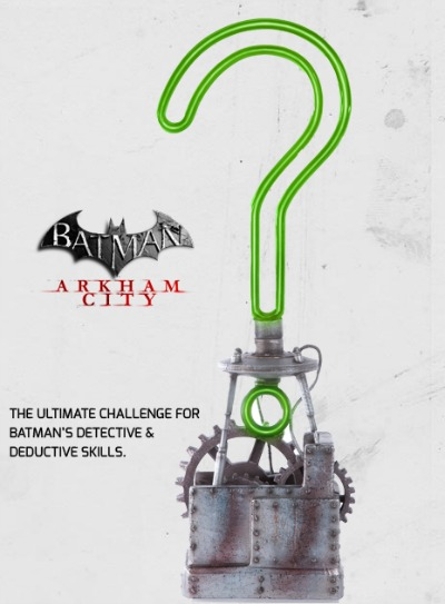Riddler Trophy Replica from Batman: Arkham City