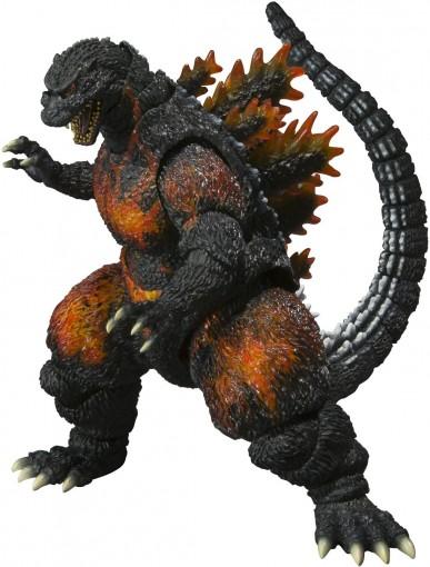 S.H. Monster Arts Burning Godzilla Action Figure