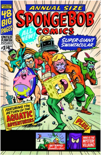 SpongeBob Comics Swimtacular